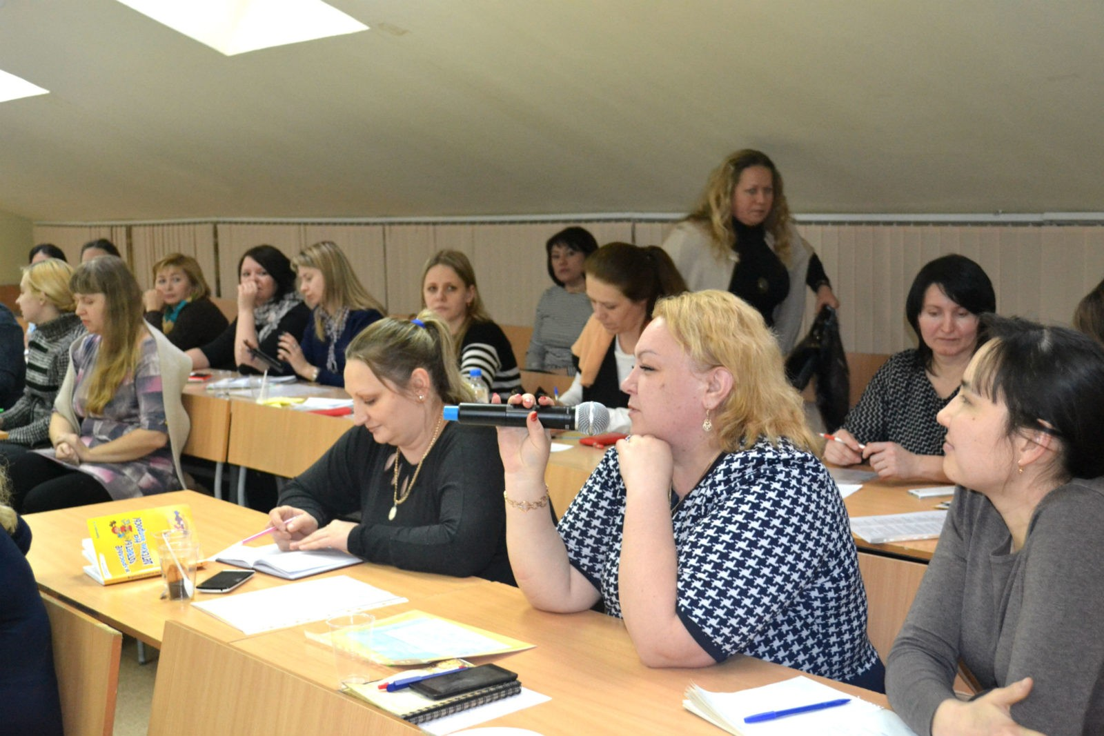 Семинар-совещание педагогов-психологов. Присутствующие приняли активное участие в обсуждении темы