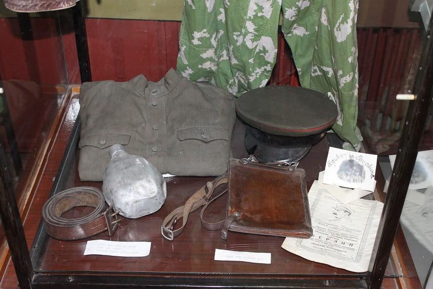Из экспозиции, посвященной Великой Отечественной войне